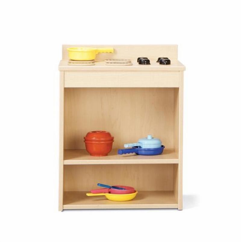 Young Time Furniture Wooden Play Kitchen Pantry 7081yr441 Apple School Supply