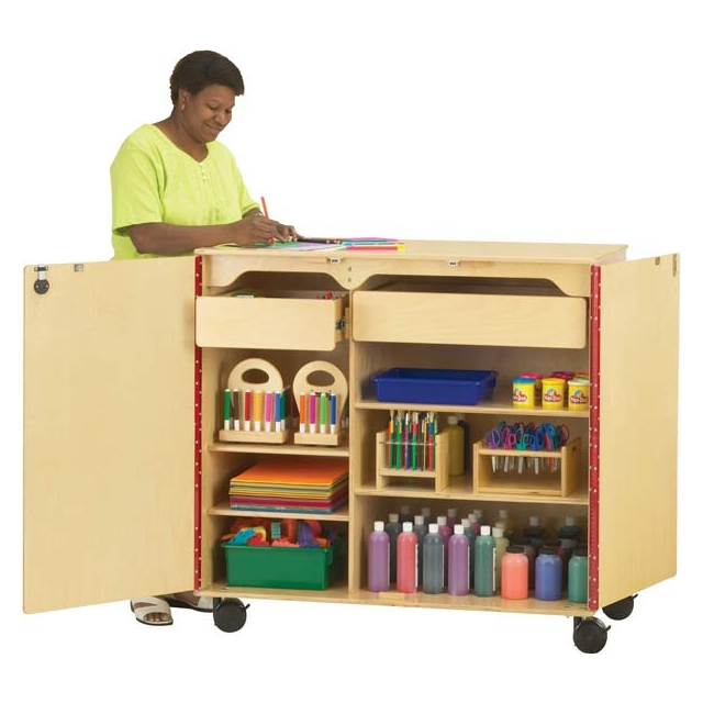 9511JC MEGA SUPPLY CABINET   Jonti Craft 9511JC