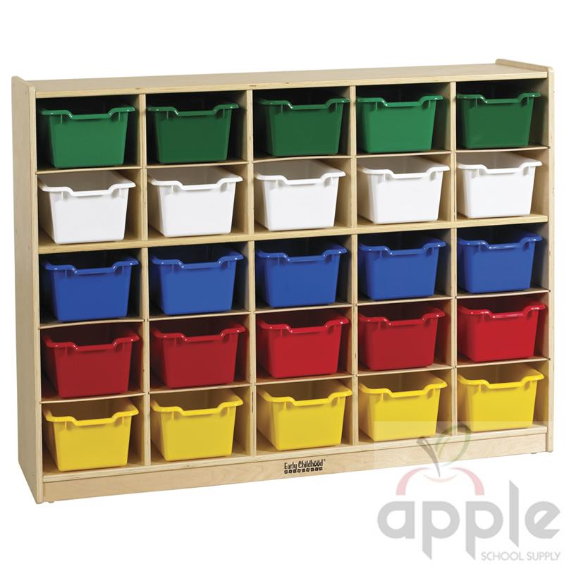 ECR4Kids 25 Bin Storage Cubby w/ 25 Bins ELR-0427-XX ECR4KIDS  sc 1 st  Apple School Supply & ECR4Kids ELR-0427-XX 25 Bin Storage Cubby w/Bins FREE SHIPPING!