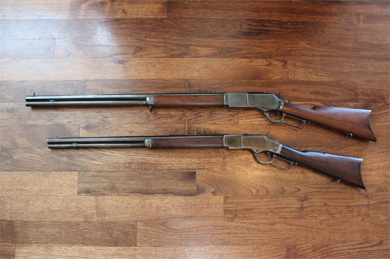 Winchester 76 7 Leaf Express For Sale