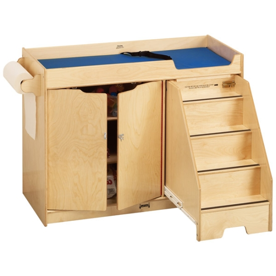Jonti Craft Changing Table W Right Side Stairs 5137jc