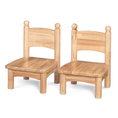 Small Wooden Chair Pairs 8947JC2 Apple School Supply