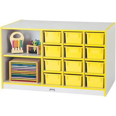 0440JC007 Rainbow Accents Storage Island with Trays