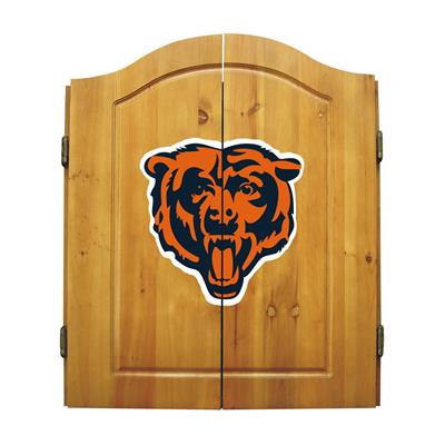Chicago Bears Dart Cabinet Set - Official NFL Licensed!