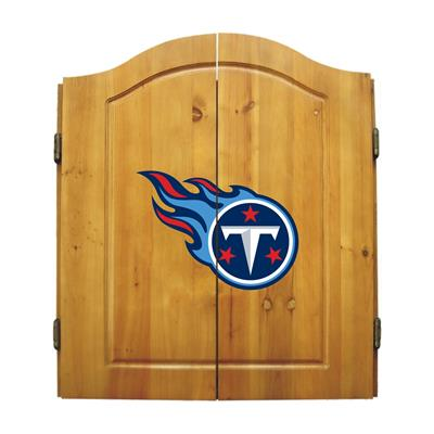 Tennessee Titans Dart Cabinet Set - Official NFL Licensed!