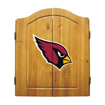Arizona Cardinals Dart Cabinet Set - Official NFL Licensed!