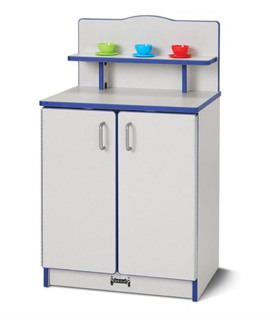Jonti-Craft Rainbow Accents Culinary Creations Kitchen Cupboard