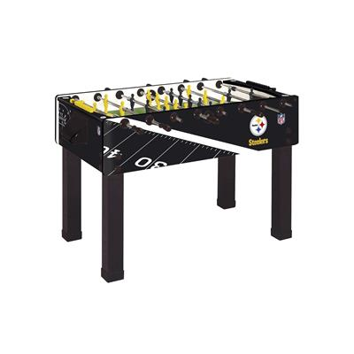 Pittsburgh Steelers Foosball Table, Official NFL Licensed!