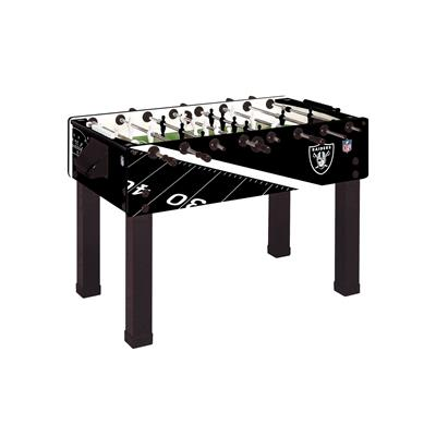 Oakland Raiders Foosball Table, Official NFL Licensed!