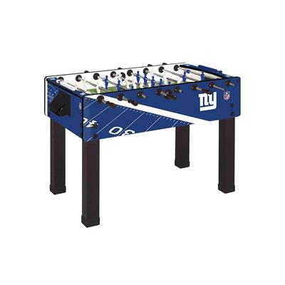 New York Giants Foosball Table, Official NFL Licensed!