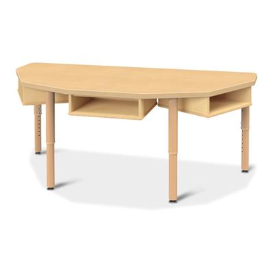 Jonti-Craft Trio Table with Storage - 5540JCP251