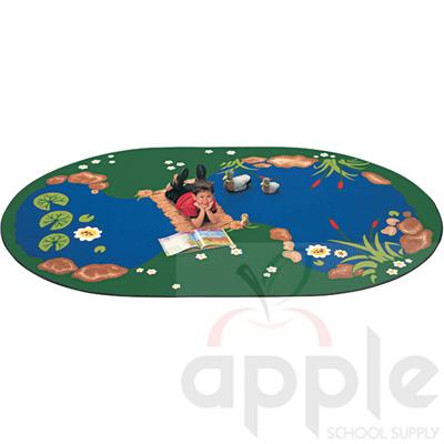 The Pond Oval Rug, Carpets for Kids