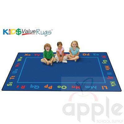 Alphabet Value Rug - Carpets for Kids - Free Shipping