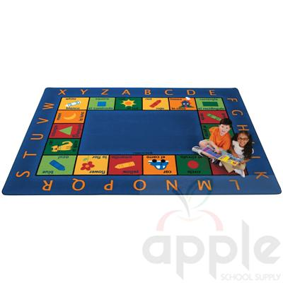 Bilingual Circletime Rectangle Rug - Carpets for Kids