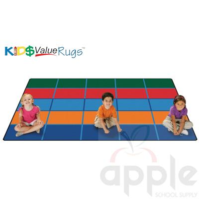 Color Blocks Value Seating Rug - Carpets for Kids