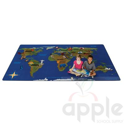 Continental Wonders Rectangle Carpet - Carpets for Kids - Free Shipping
