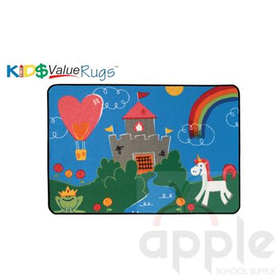 Fantasy Fun Rectangle Rug - Carpets for Kids - Free Shipping