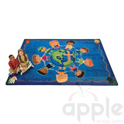 Great Commission Children's Rectangle Rug