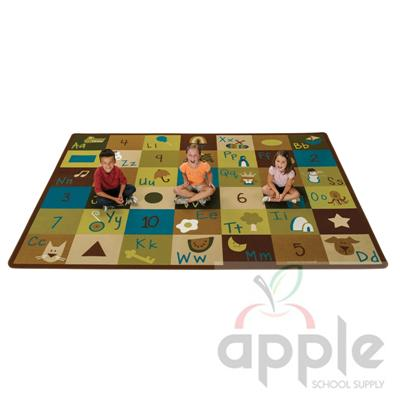 Learning Blocks - Nature Rectangle Rug - Carpets for Kids