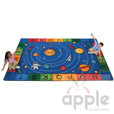 Milky Play Literacy Rectangle Rug - Carpets for Kids
