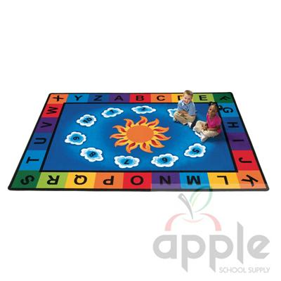 Sunny Day Rectangle Rug - Carpets for Kids