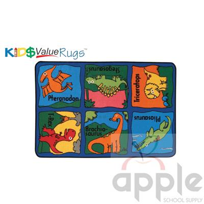 Dino-mite Rectangle Rug - Carpets for Kids
