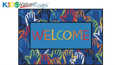 Hands Together Value Rug - Free Shipping