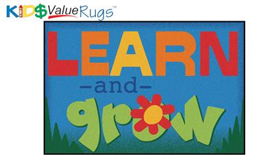 Learn and Grow Rectangle Rug - Carpets for Kids