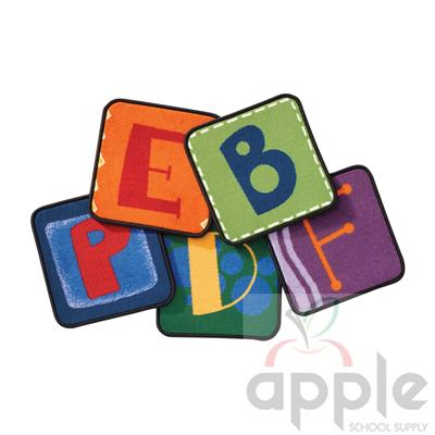Toddler Alphabet Blocks Kit - Carpets For Kids