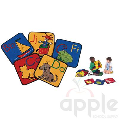 ABC Phonic Squares (26 Squares) Carpets for Kids