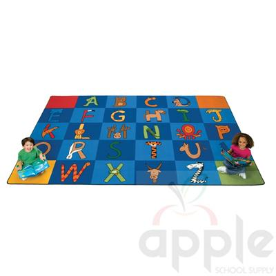 to Z Animals! Rug  - by Carpets for Kids