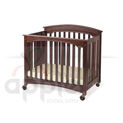 Foundations Royale Storable Wood Fixed-Side Crib