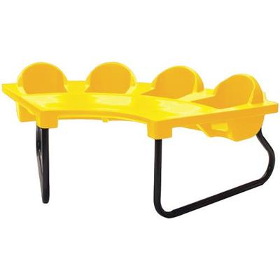 Toddler Tables 4 Seat Junior Table - Yellow