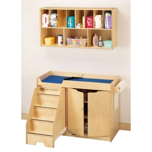 Jonti Craft Changing Table W Left Side Stairs Amp Diaper