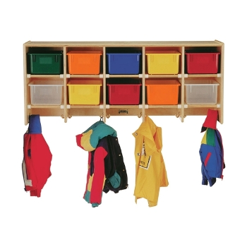 Jonti-Craft 0771JC Coat Locker APPLE SCHOOL SUPPLY