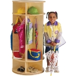 Jonti-Craft 0350JC Revolving Coat Locker APPLE SCHOOL SUPPLY