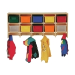 Jonti-Craft 0770JC Coat Lockers APPLE SCHOOL SUPPLY