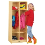 Jonti-Craft 2682JC COAT LOCKER APPLE SCHOOL SUPPLY