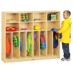 Jonti-Craft 2685JC Neat-n-Trim Lockers APPLE SCHOOL SUPPLY