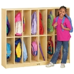 Jonti-Craft 2686JC Twin Trim Lockers APPLE SCHOOL SUPPLY