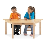 Jonti-Craft 53210JC MULTI-PURPOSE TRAPEZOID TABLE