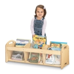 Jonti-Craft 5376JC SEE-THRU TODDLER BOOK BROWSER