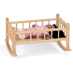 Jonti-Craft 6307JC TRADITIONAL DOLL CRADLE
