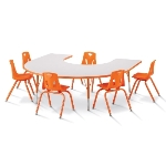 Horseshoe Shaped Tables
