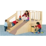 Jonti-Craft 9750JC Tiny Tots Loft at Apple School Supply