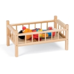Jonti-Craft 6305JC TRADITIONAL DOLL BED