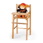 Jonti-Craft 0503JC Wooden Doll High Chair