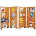 Room Divider Mobile Library Bookcase - Jonti-Craft - 0267JC