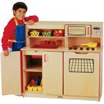 Jonti-Craft 4-in-1 Kitchen Activity Center- 0287JC