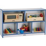 TODDLER SINGLES STORAGE UNIT - RAINBOW ACCENTS - Jonti-Craft 0324JCWW180